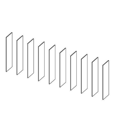 Immagine di Cabina armadio 9 Vani: Disegna in libertà cominciando da dieci montanti